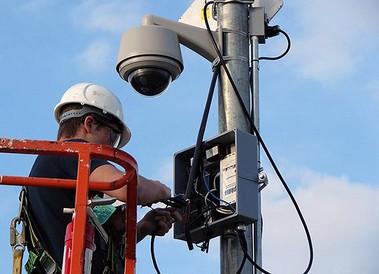 Расходы на монтаж и наладку системы видеонаблюдения